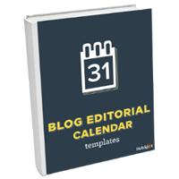 Blog Editorial Calendar Templates