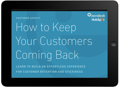 How to Keep Your Customers Coming Back  I'd like this one toward the top of the page